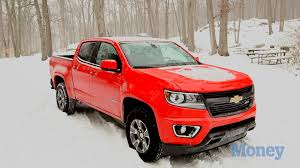 chevy colorado that blizzard was no match for the chevy colorado money