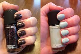the beauty of life m a c glamour daze nail lacquer swatches