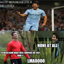 Funny Messi Memes - yo messi how many uefa trophies do they have none at all lmaoooo