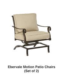 Patio Chairs Shop The Ebervale Patio Collection On Lowes Com