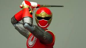 figuarts red wind ranger power rangers ninja storm figure