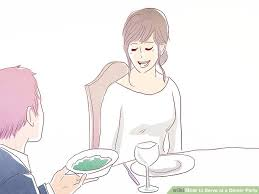 What To Serve At A Cocktail Party - how to serve at a dinner party 12 steps with pictures wikihow