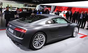 Audi R8 Grey - 2016 audi r8 doesn u0027t disappoint at the geneva motor show carponents