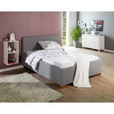 Schlafzimmer Komplett Bett 180x200 Komplett Bett Sara 180x200 Grau Inkl Lattenrost U0026 Matratze