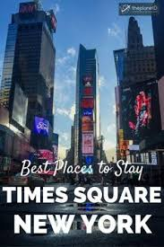 intercontinental hotel times square the location for