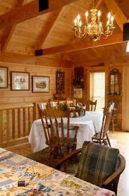 Log Siding For Interior Walls Half Log Interior Paneling Hallway 8 Inch Half Log Hewn Pine