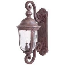 Antique Outdoor Lighting Troy Lighting Wilmington Nautical Rust Outdoor Wall Mount Lantern