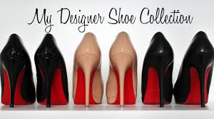 my designer shoe collection christian louboutin chanel miu