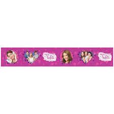 Jouet Violetta by Disney Violetta Heart Self Adhesive Wallpaper Border 5m