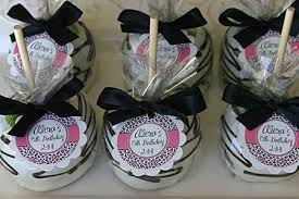 california caramel company wedding favors 15th birthday