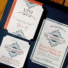deco wedding invitations items similar to deco vintage glam wedding invitations diy