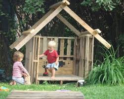 Backyard Clubhouse Plans by Diy Designs Kids Pallet Playhouse Plans Wooden Pallet Furniture