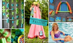 Pool Noodle Decorations Top 21 The Best Diy Pool Noodle Home Projects And Lifehacks