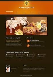 honey store moto cms html template 47666