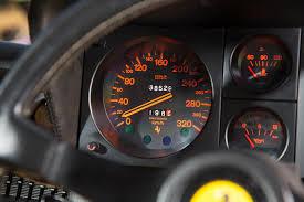 ferrari speedometer sold 1984 ferrari 512 bbi girardo u0026 co
