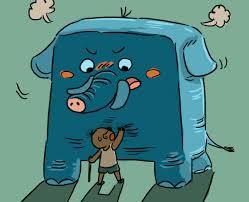 Blind Men And The Elephant Poem Storytelling Mikelockett Com