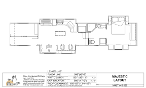 toy hauler floor plans image collections home fixtures
