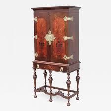 hardware for walnut cabinets flint horner 1940 s walnut cabinet with brass hardware