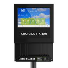 amazon com chargetech digital signage cell phone charging