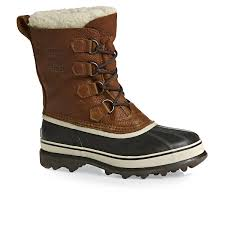 brown moto boots sorel men u0027s caribou wl pull on boots 510 tobacco shoes sorel