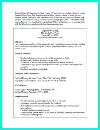 Sample Resume For Ccna Certified by Example Cna Resume Best Cna Resume S And Les Interior Design