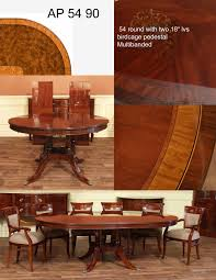 mahogany dining room furniture traditional round mahogany dining table