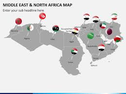 middle east map ppt middle east and africa mena map powerpoint sketchbubble