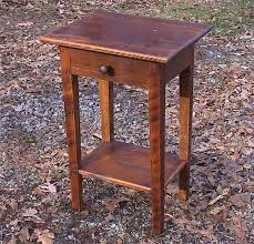 end table with shelves barnwood end table with shelf and drawer
