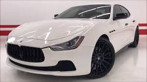 custom maserati sedan 2016 maserati ghibli s q4 custom 93k msrp 22