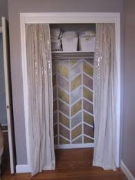 install moulding remove doors and use curtains instead don u0027t