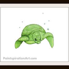 Sea Turtle Bathroom Accessories Best Sea Turtle Painting Products On Wanelo