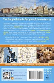 Where Is Brussels Belgium On A Map The Rough Guide To Belgium And Luxembourg Rough Guides Rough