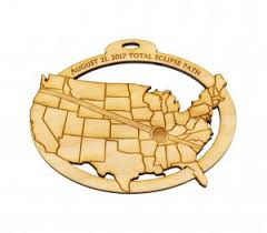 solar eclipse 2017 ornament great american eclipse charleston