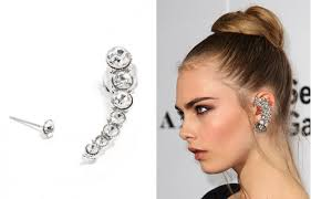 how do you wear ear cuffs howtowearit the ear cuff instyle