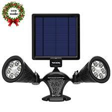 solar powered sensor security light best solar powered motion security lights june 2018 buying guide