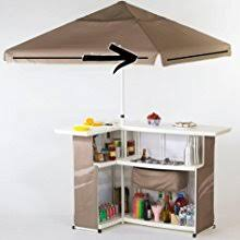 Side Patio Umbrella Amazon Com Best Of Times Tiki Palapa Patio Umbrella 8 U0027 Garden