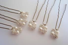 pearl hair pins hair pins handmade bridal hairpins bridal wedding hair accessories