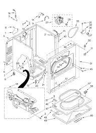 diagram kenmore dryer model 110 diagram