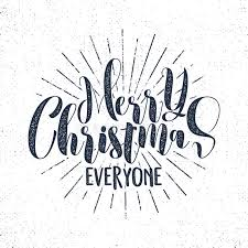 merry everyone lettering wishe sayings and
