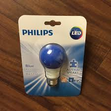 Philips Purple Light Bulb LED 8 W A19 Base Cancer Awareness Party