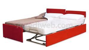 letto estraibile letto con doppio estraibile salvaspazio m 1560 arrediweb