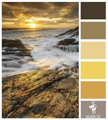 rocky glow grey slate beige brown sand cream gold yellow
