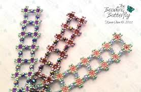 beaded butterfly bracelet images The beading butterfly beaded art and jewelry by kassie jpg