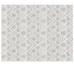 Pottery Barn Gabrielle Rug Megan Custom Tufted Rug Ivory Silver 10 18 Week Delivery