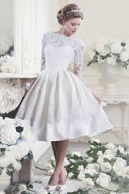 marvelous collection of lace wedding dresses in short length