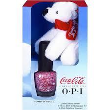 opi nail polish coca cola collection