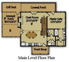 Small Lake Cabin Plans Small Mountain Cabin Plan By Small Lake Houses Lake House Plans