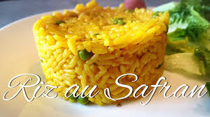cuisiner le safran riz au safran