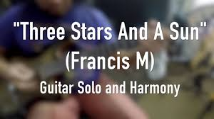 three and a sun francis m guitar and
