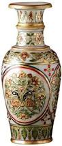 Flower Vase Decoration Home Amazon Com The Hue Cottage Flower Vase Rajasthani Meenakari